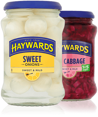 The Haywards Pickles range