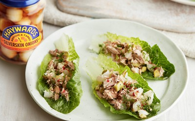 Tuna Boats Recipe with Pickles
