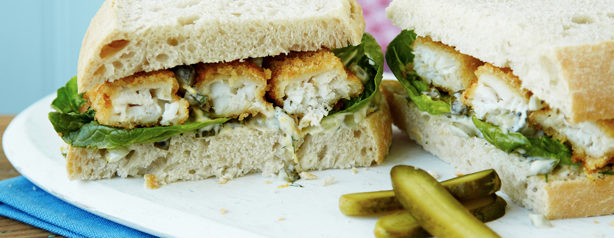 Photo of Fish Finger Sandwich Recipe with Tartar Sauce recipe