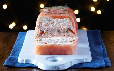 Salmon Mousse & Pickle Terrine Recipe