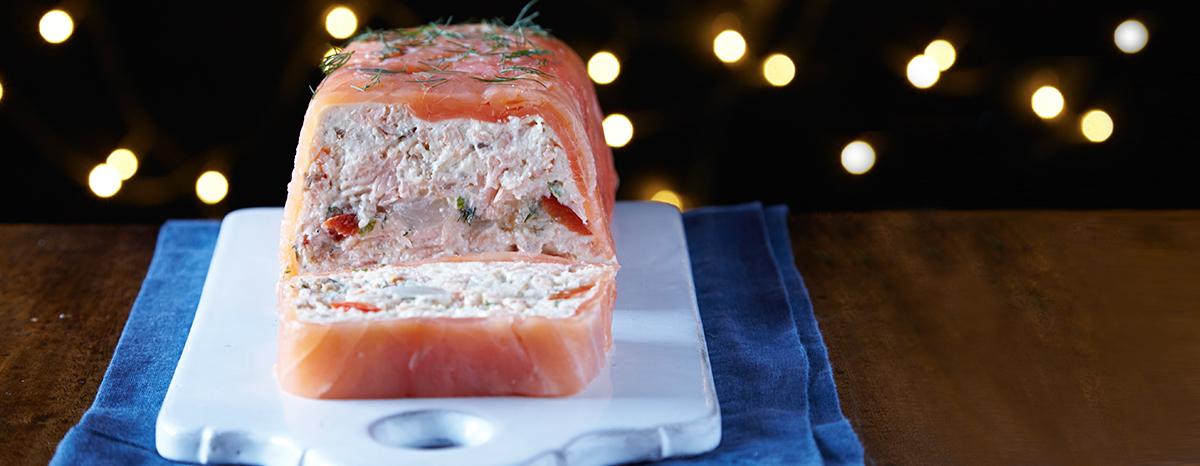 Photo of Salmon Mousse & Pickle Terrine Recipe recipe