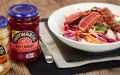 Coleslaw & BBQ Steak Recipe