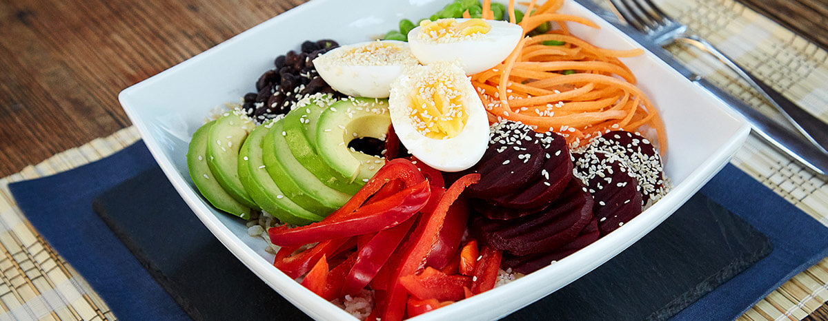 Photo of Buddha Bowl Healthy Salad Recipe recipe