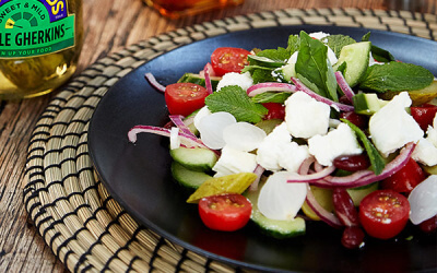 Greek Salad Recipe – High in Protein