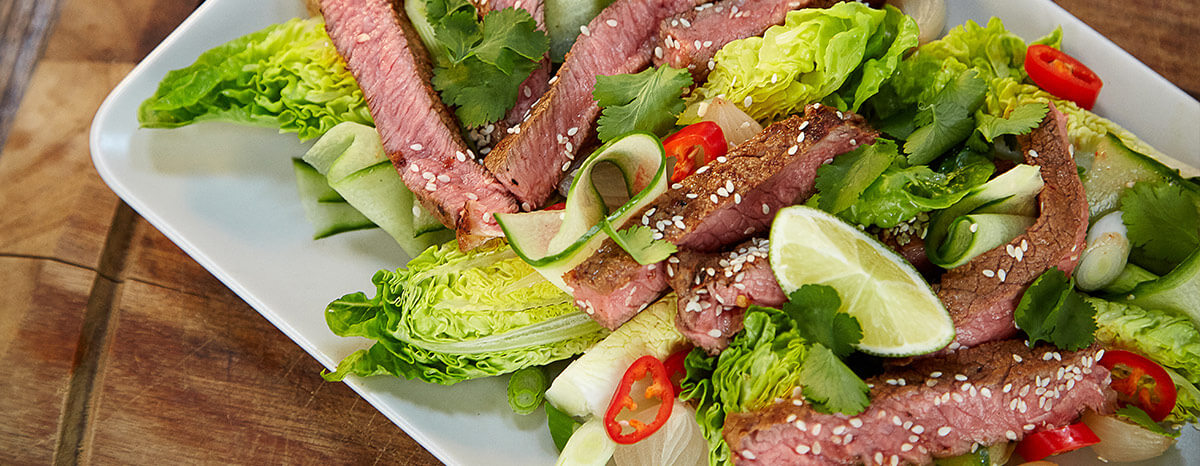 Photo of Korean Beef – Steak Salad Recipe recipe
