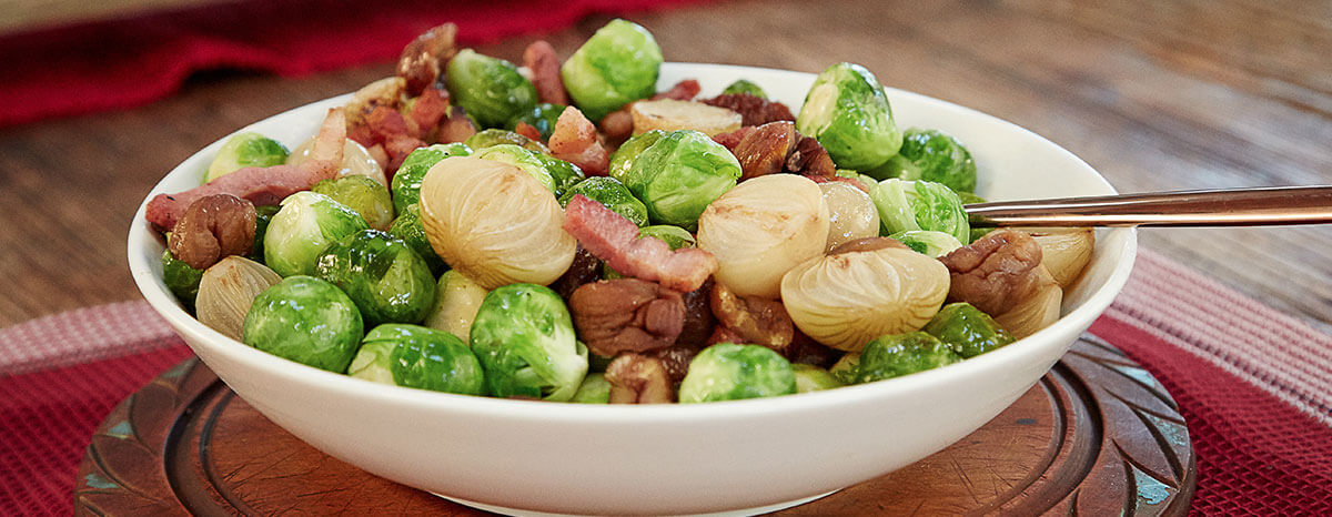 Photo of Roasted Brussel Sprouts with Bacon recipe